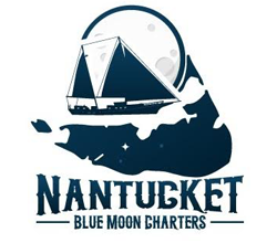 nantucket sailing charters - blue moon charters logo home link